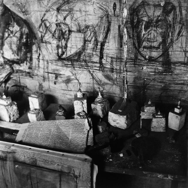 The Studio of Alberto Giacometti, 1958.