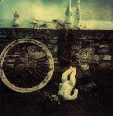 Andrei Tarkovsky. Polaroid Italy.