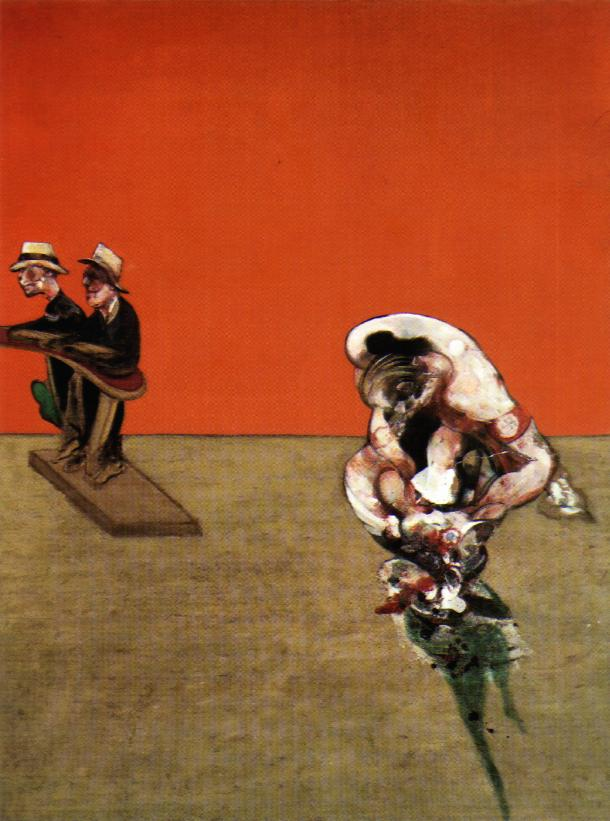 Francis Bacon. Crucifixion 1965.