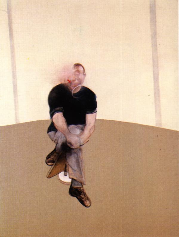 Francis Bacon. Study for a Self Portrait (Triptych), 1985-86.