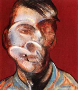 Francis Bacon. Self Portrait, 1973.