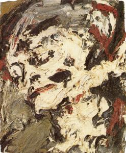 Frank Auerbach. Head of gerda Boehm.