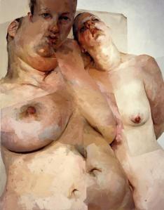 Jenny Saville. Rubens Flap, 1998-99.