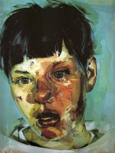 Jenny Saville. Stare, 2004-5.