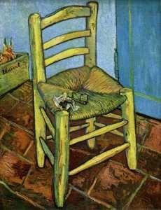 Vincent Van Gogh. Chair 1888.