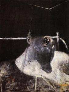 Francis Bacon. Head 1, 1948.