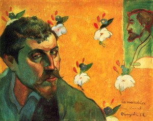 Paul Gauguin. Self Portrait 1888.