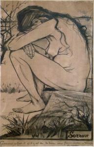 Vincent Van Gogh. Sorrow , 1882.