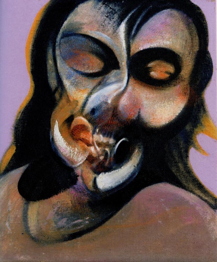 Francis Bacon. Portrait of Henrietta Moraes, 1969.