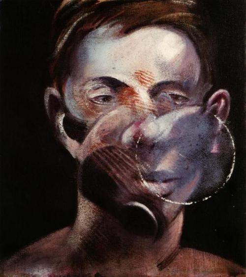 Francis Bacon. Portrait of Peter Beard, 1976.