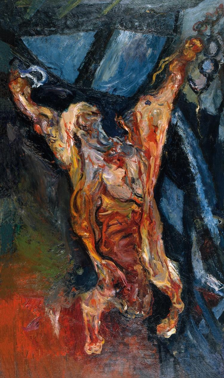 Chaim Soutine. Carcass of Beef, 1925(2).