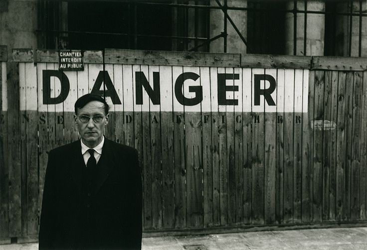 William S. Burroughs by Brion Gysin, 1959.