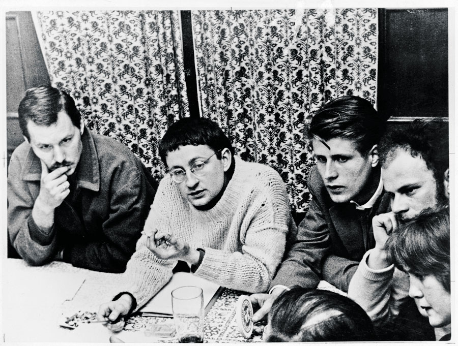 Guy Debord. Munich, 1959.