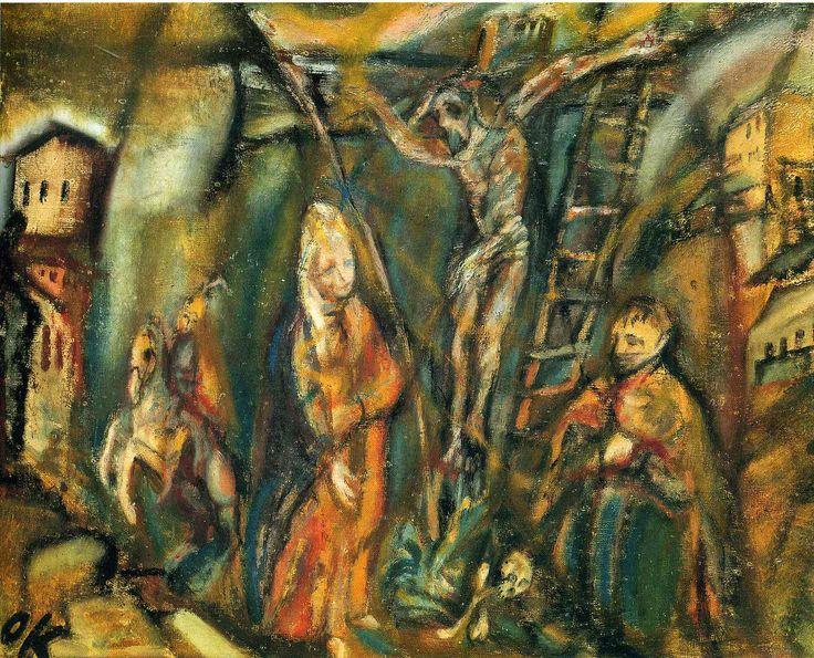 oskar-kokoschka-crucifixion-1911