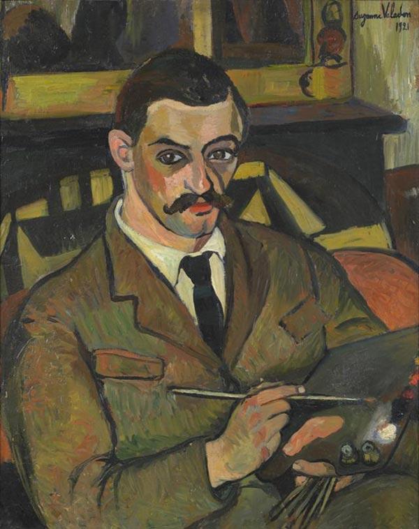 Suzanne Valladon. Portrait of Maurice Utrillo, 192a