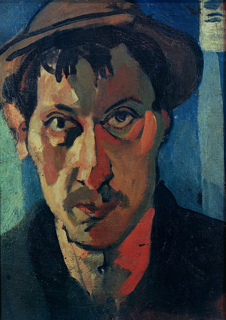 Andrei Derain. Self Portrait With a Floppy Hat, 1905.