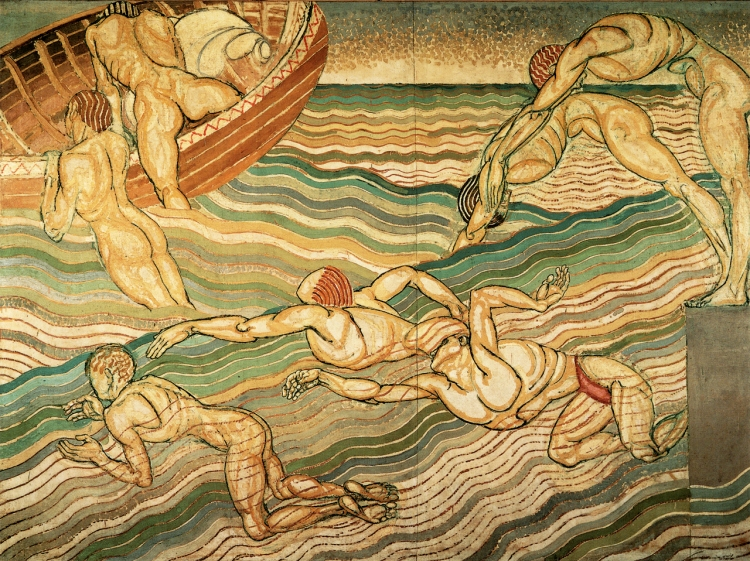 Duncan Grant. The Bathers, 1911.