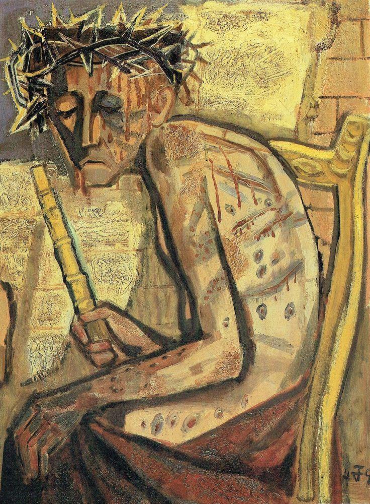 Otto Dix. Ecce Homo 111, 1949. (1)