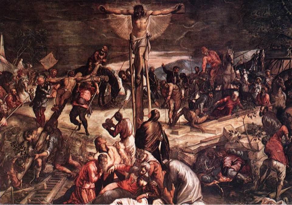 Jacopo Tintoretto. Crucifixion, 1565.