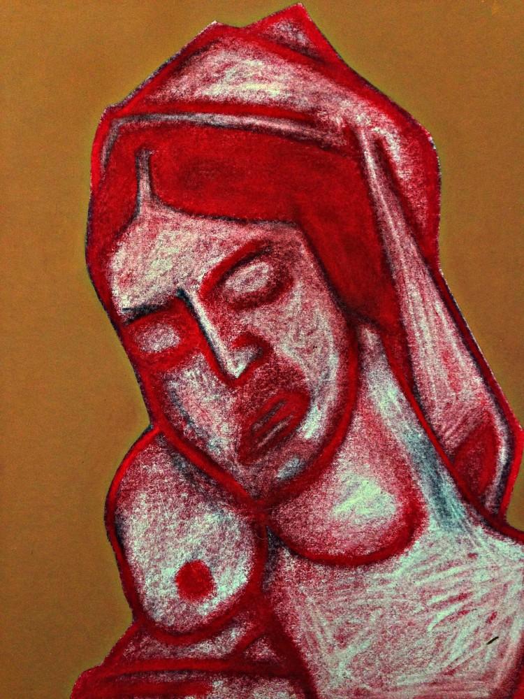 Madonna After Mantegna. September 2019(4).