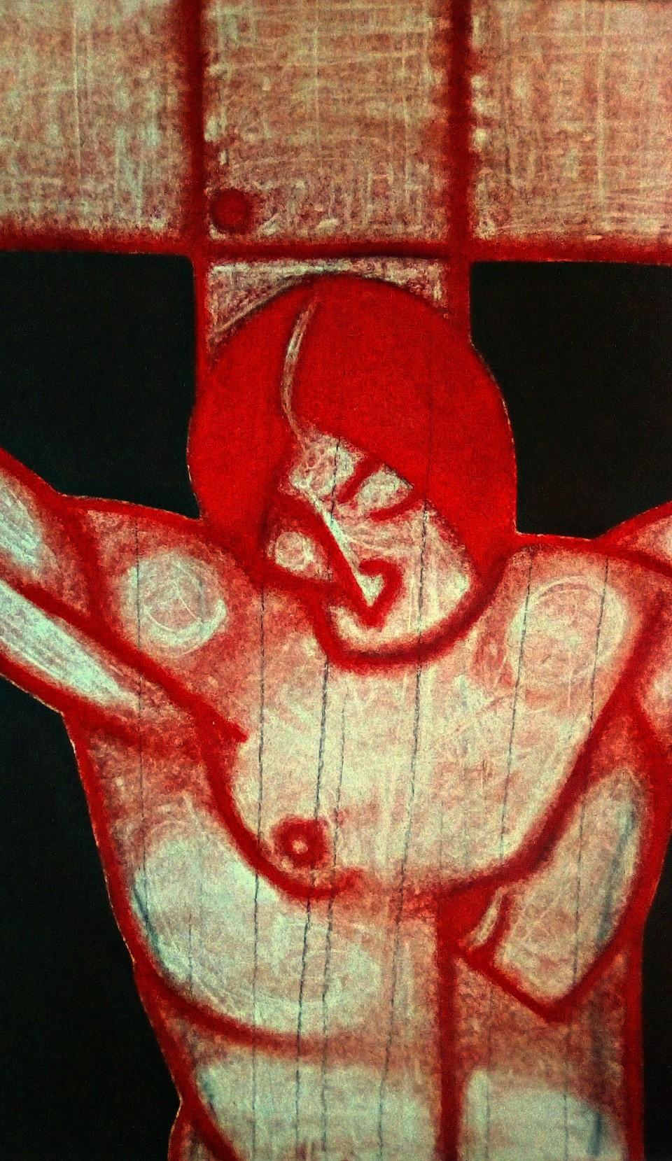 Crucifixion After Velazquez. March 2020.