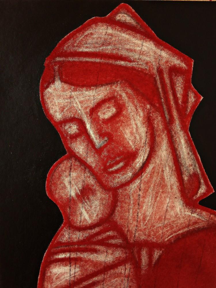 Madonna After Mantegna. May 2020.