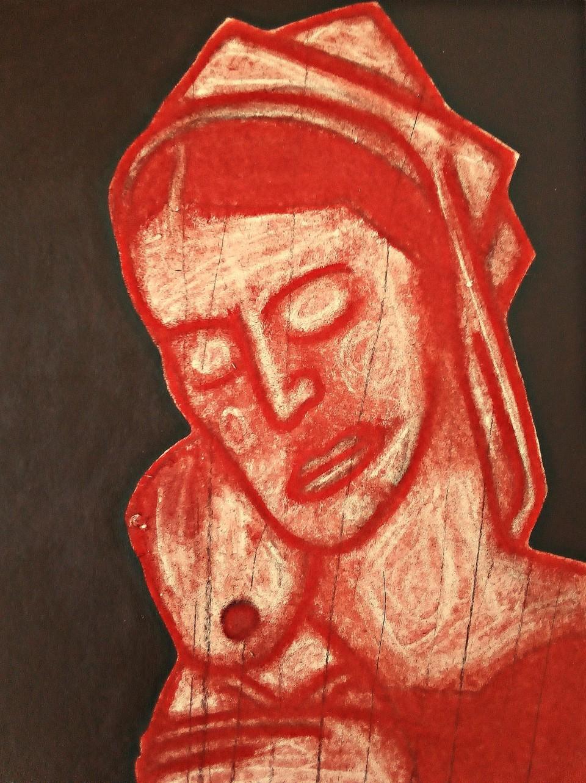 Madonna After Mantegna. May 2020(2).