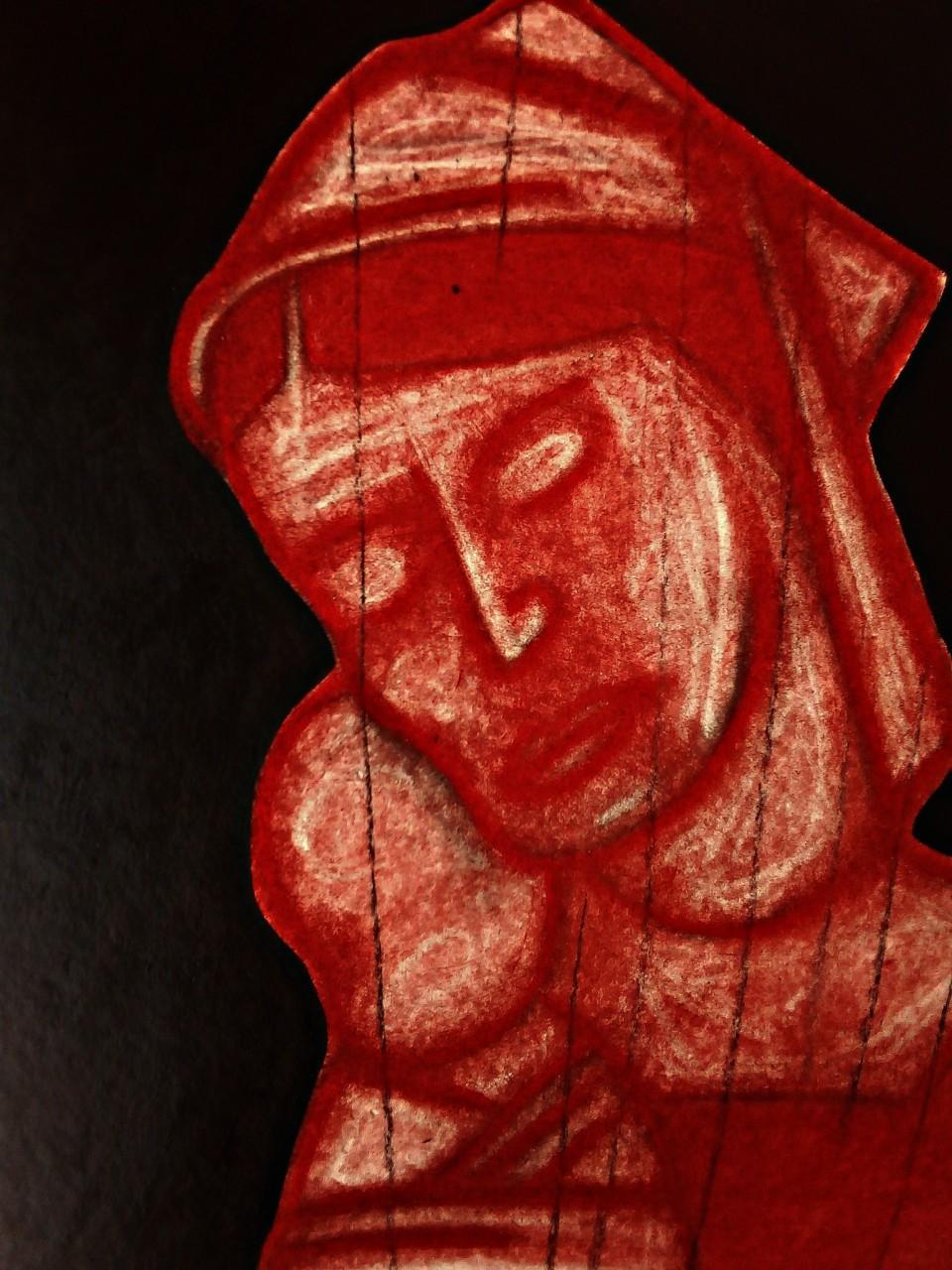 Madonna After Mantegna. May 2020(3).
