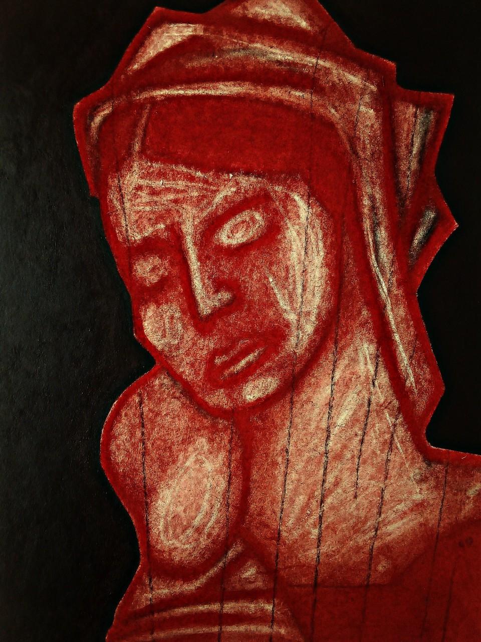 Madonna After Mantegna. May 2020(4).