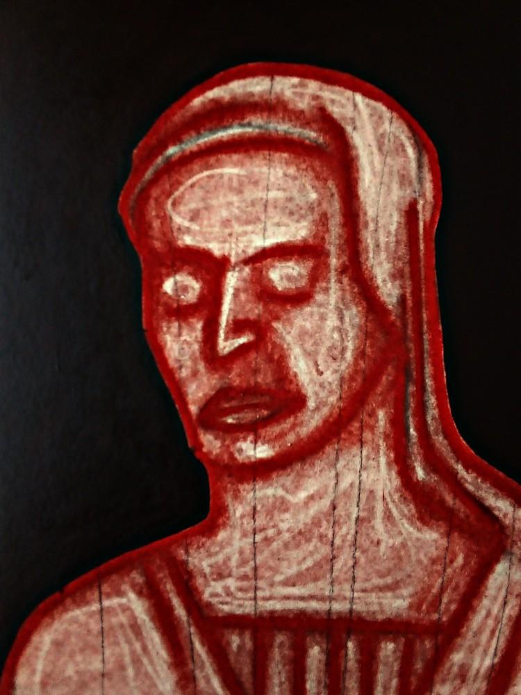 Madonna After Mantegna. May 2020(5).