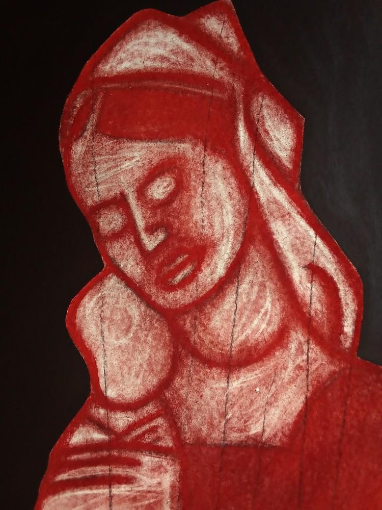 Madonna After Mantegna. June 2020.