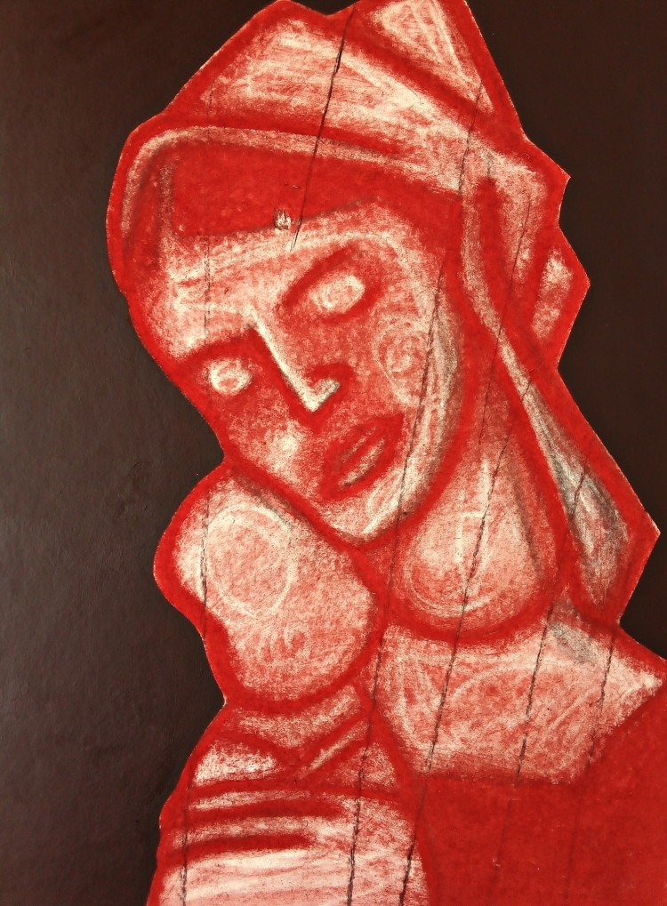 Madonna After Mantegna. June 2020(2).